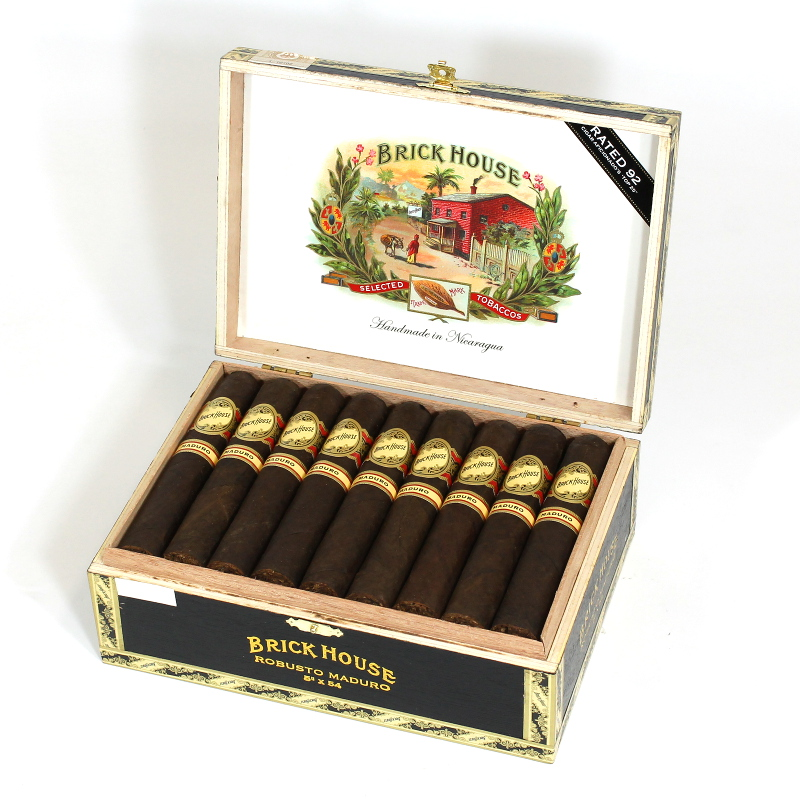 Brick House Maduro Robusto_8