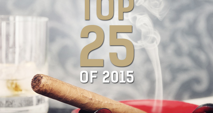 The best 25 Cigars of 2015